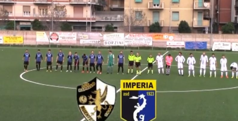 Eccellenza Liguria, Rapallo 0 Imperia 4 sintesi video