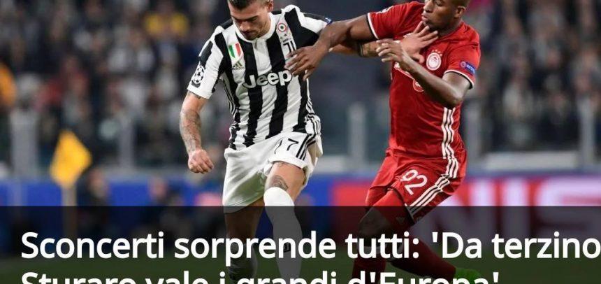 "Mario Sconcerti sorprende tutti:""Da terzino Sturaro vale i grandi d'Europa"""