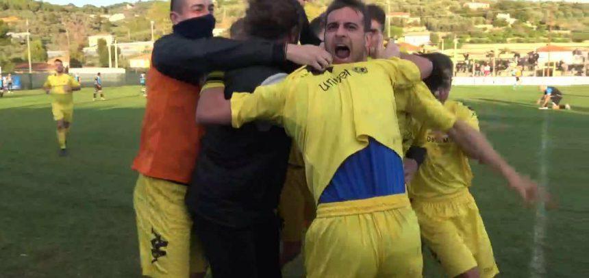 Una rete di Andrea Pippia stende la Carlin's Boys e fa volare il Cervo FC: 1-0