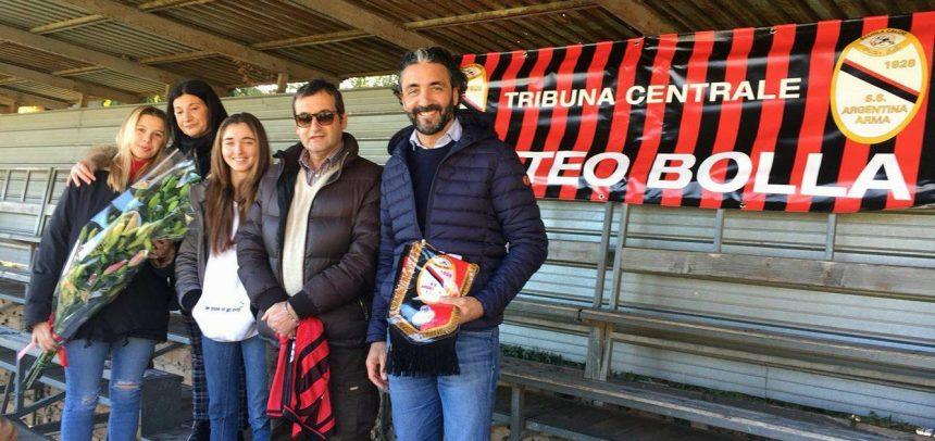 Argentina: intitolata la tribuna centrale a Matteo Bolla