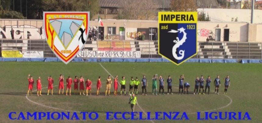 Eccellenza Liguria, Albenga 0 Imperia 1 sintesi video