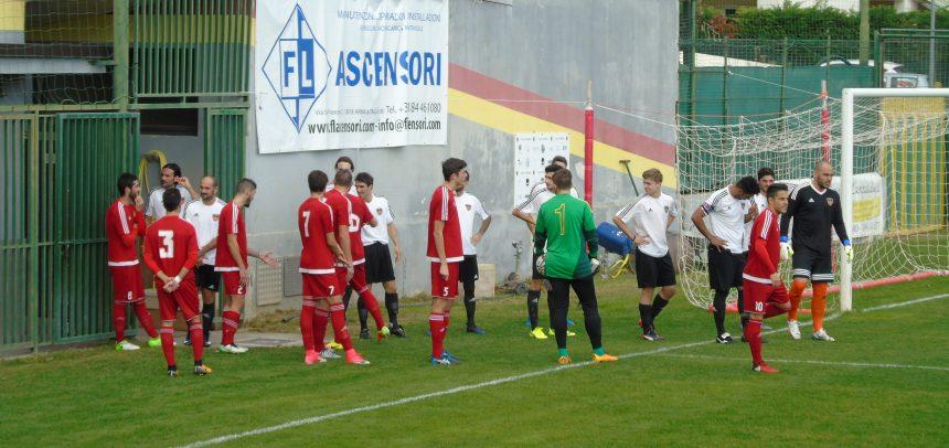 Il Taggia vince 2-1 il big match con l'Ospedaletti: decisive le reti di Ambesi e Tarantola su rigore