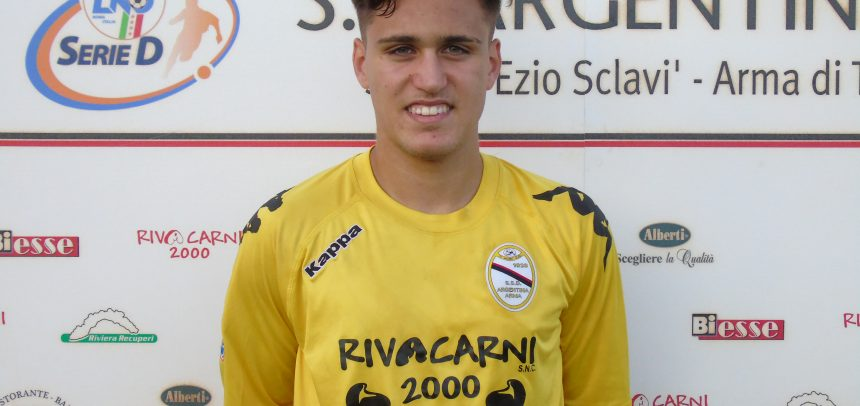 E' Davide Malafronte il Man of the Match di Argentina-Calcio Derthona 3-0