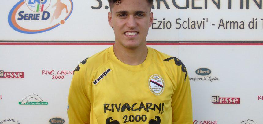 E' Davide Malafronte il Man of the Match di Argentina-Calcio Derthona 3-0