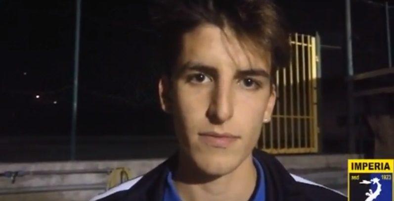 """Juniores Imperia – Veloce, il migliore in campo è il capitano Filippo Verda: """"Buona concentrazione della squadra per tutta la partita"""""""