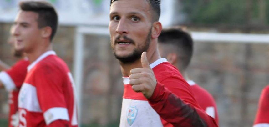 """Sanremese, capitan Lo Bosco subito in gol:""""Cancellato il -2 in classifica nel miglior modo possibile"""""""