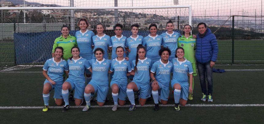 Calcio femminile, la Sanremese piega il Genoa 6-1: poker di Cerato e doppietta di Capurro
