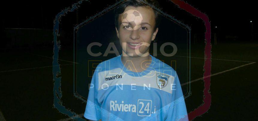 Sanremese Calcio – Riccardo Coccoluto al comando della classifica cannonieri del campionato Giovanissimi Regionali Fascia B con 20 gol