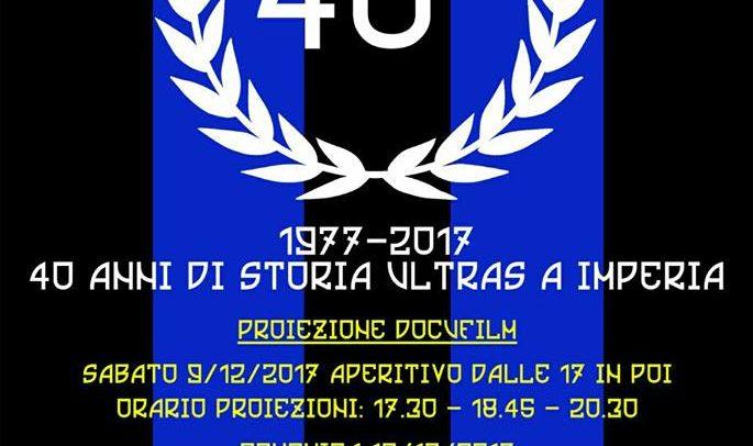 Ultras Imperia 1977 – 2017, sabato e domenica celebrazione dei 40 anni di storia