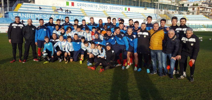 Sanremese Calcio – Gli Esordienti 2006 di mister Fabio Coccoluto vincono il 1° Torneo Natale Biancoazzurro Virtus