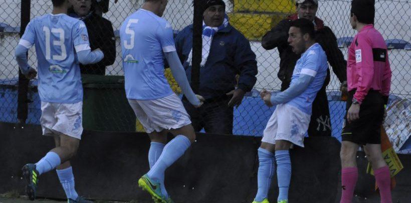 La Sanremese batte il Ligorna con un gol di Lauria e chiude il girone di ritorno a meno uno dalla vetta
