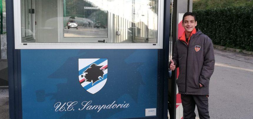 Ospedaletti, il classe 2005 Alessio Praticò in prova alla Sampdoria