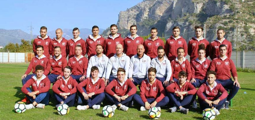 Ventimiglia, non basta il 10° gol in campionato di Salzone: l'Albenga vince 2-1
