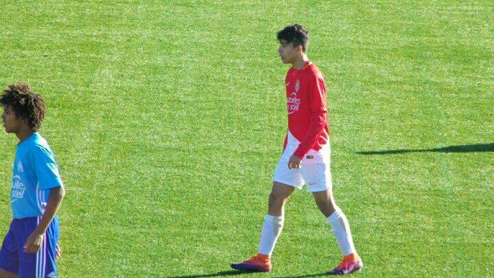 AS Monaco, Matteo Eordea in gol nella vittoria sul campo della capolista Olympique Marsiglia