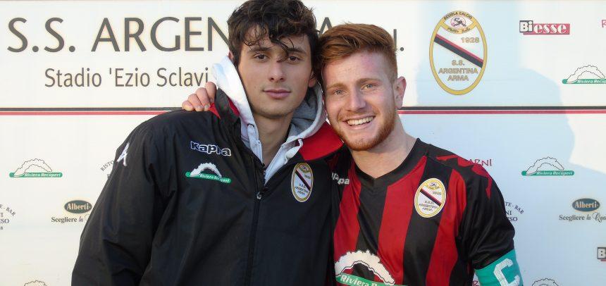 """Juniores Nazionali, sono Matteo Aretuso e Luca Esposito Salsano i """"Men of the Match"""" di Argentina-Castellazzo 1-0"""
