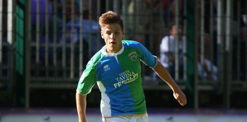 Dalla Feralpisalò arriva il centrocampista centrale classe '98 Giuseppe Boldini