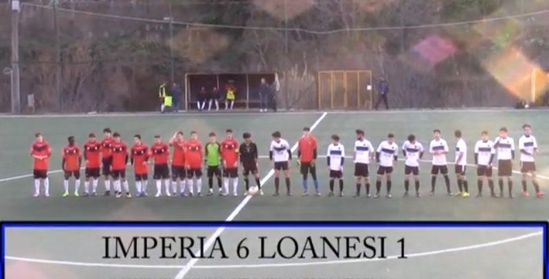 Juniores Eccellenza, Imperia 6 Loanesi 1 video sintesi e intervista al migliore in campo Giorgio Giraudo