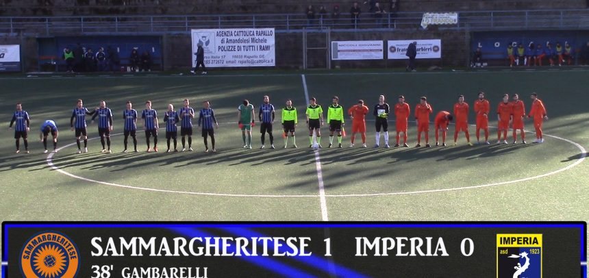 Eccellenza Liguria, Sammargheritese 1 Imperia 0 video sintesi