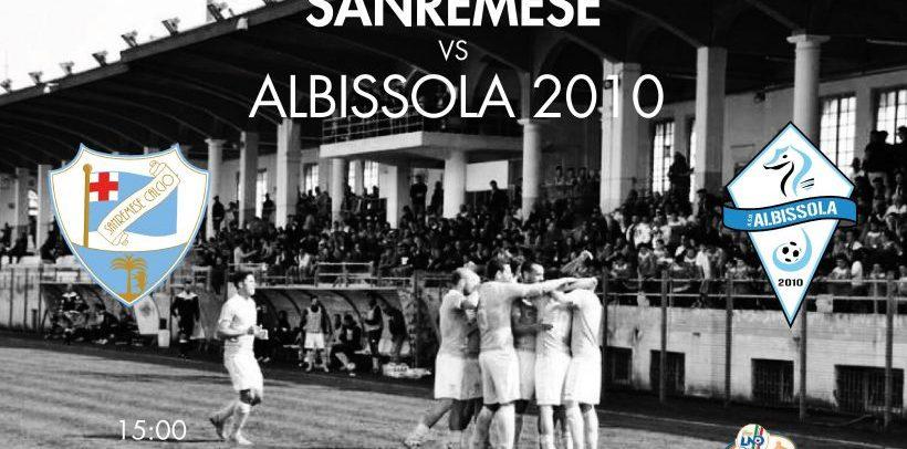 """Sanremese Calcio – Domani al """"Comunale"""" arriva l'Albissola. Fischio d'inizio alle 15"""