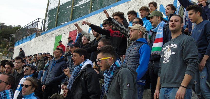 [Vide] Sanremese, la Gradinata Nord nella partita contro l'Argentina