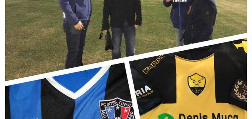 A Cervo un'altra squadra di Serie A, questa volta arriva l'Inter Turku di Fabrizio Piccareta