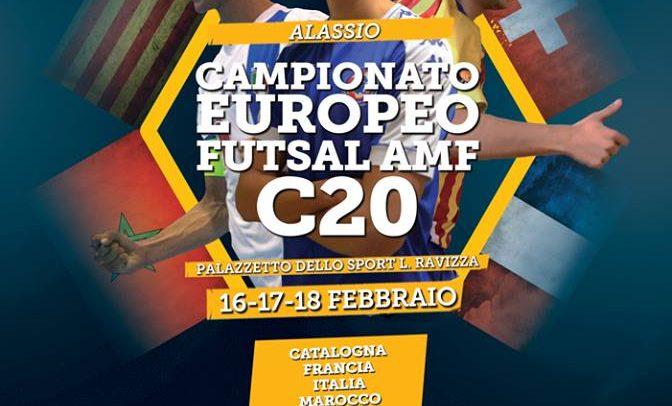 Martedì presentato ad Alassio il campionato europeo C20 Futsal AMF