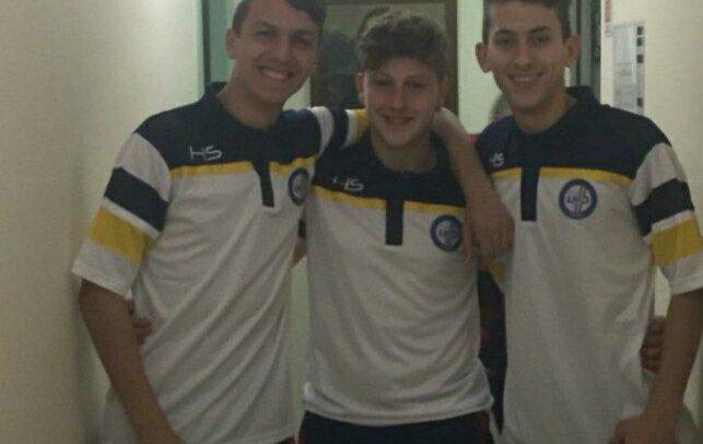 Sanremese Calcio – Matteo Cino, Michele Scarella e Niccolò Martini al 57° Torneo delle Regioni con la formazione Allievi Liguria