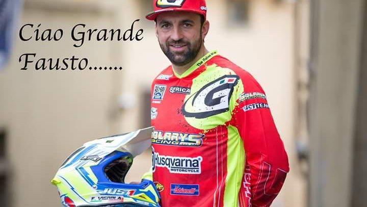 Il calcio savonese in lutto per la morte del biker Fausto Vignola