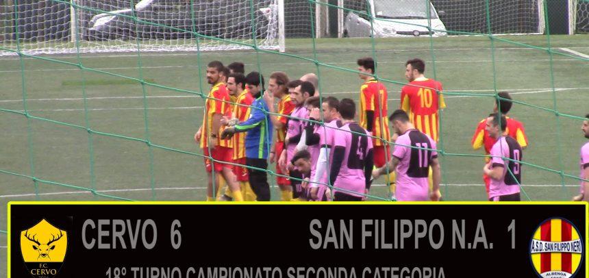 Seconda Categoria, gli highlights di Cervo 6 San Filippo Neri Albenga 1
