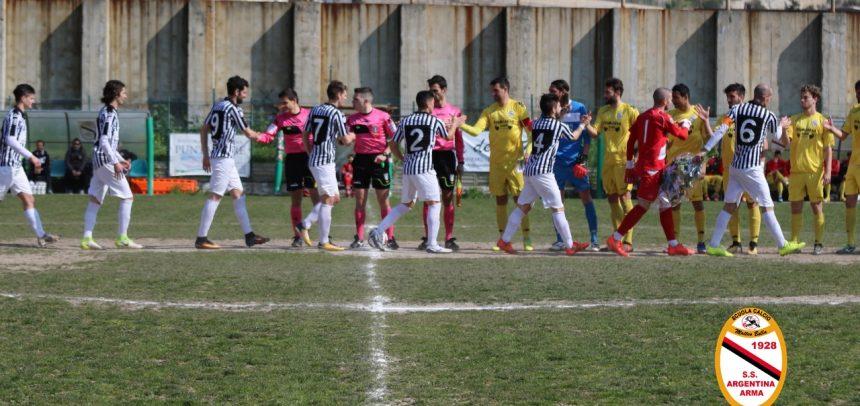 """Argentina-Viareggio 0-2, mister Casu:""""Puniti al minimo errore"""""""