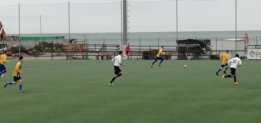 Voltrese-Ospedaletti 0-0, partita terminata 10 contro 9