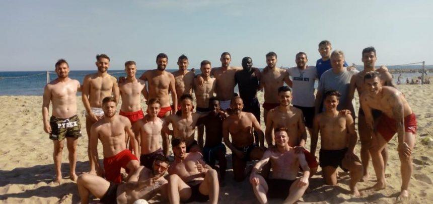Argentina, allenamento sulla spiaggia per Fiuzzi e compagni