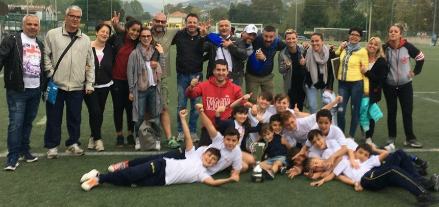 """Taggia Calcio, bellissima stagione per i Pulcini 2007 di mister Luca Festa:""""Sono stati tre anni ricchi di soddisfazioni"""""""