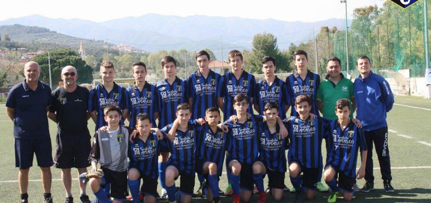 Imperia, grande campionato per i Giovanissimi Provinciali 2003 di mister Franco De Col