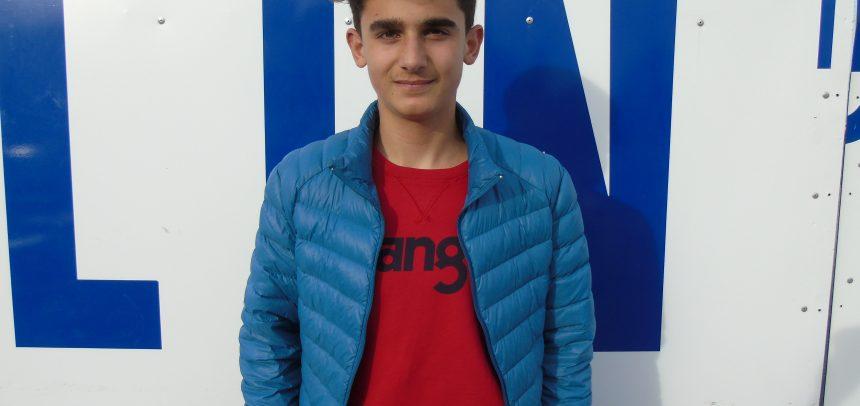Filippo D'Arcangelo, attaccante classe 2003, è un giocatore della Virtus Entella