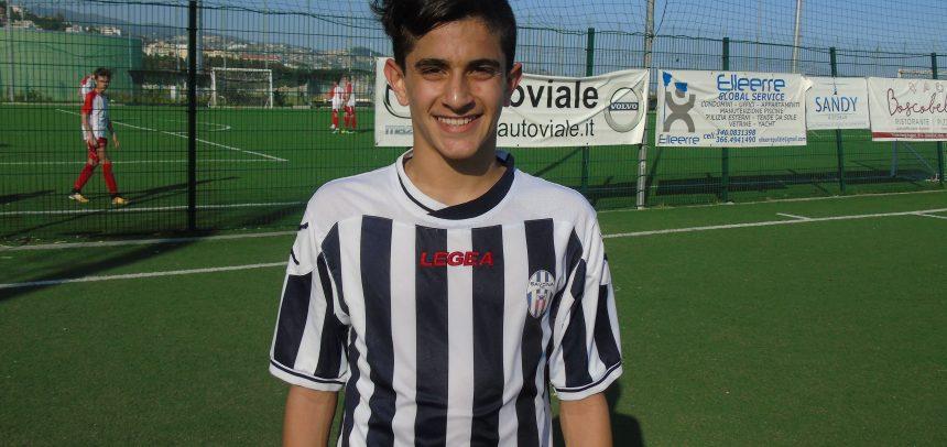 Giovanissimi Regionali, è Alessio Gibertini il Man of the Match di Sanremese-Savona 0-2