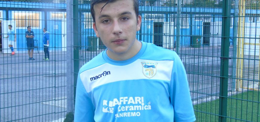 Fase Finale Allievi Regionali Fascia B, Simone Cambiaso è il Man of the Match di Sanremese-Tarros Sarzanese 2-1