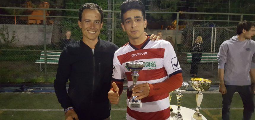 """Campionato a 7 """"Ezio Sclavi"""", il miglior attaccante è Guirat Mouez della formazione Tecnocasa"""