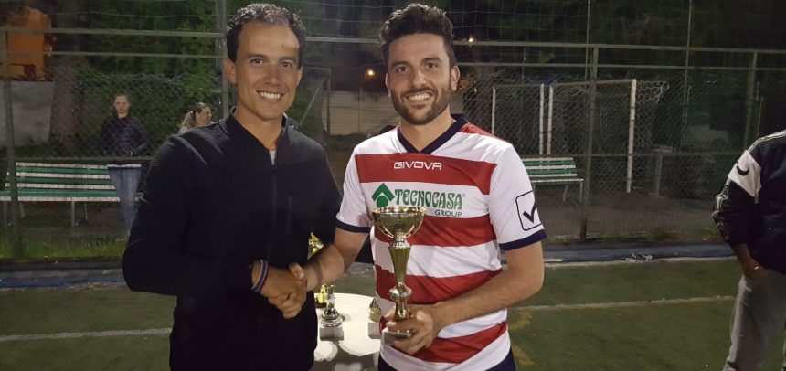 """Campionato a 7 """"Ezio Sclavi"""", il miglior centrocampista è Giovanni Paternoster"""