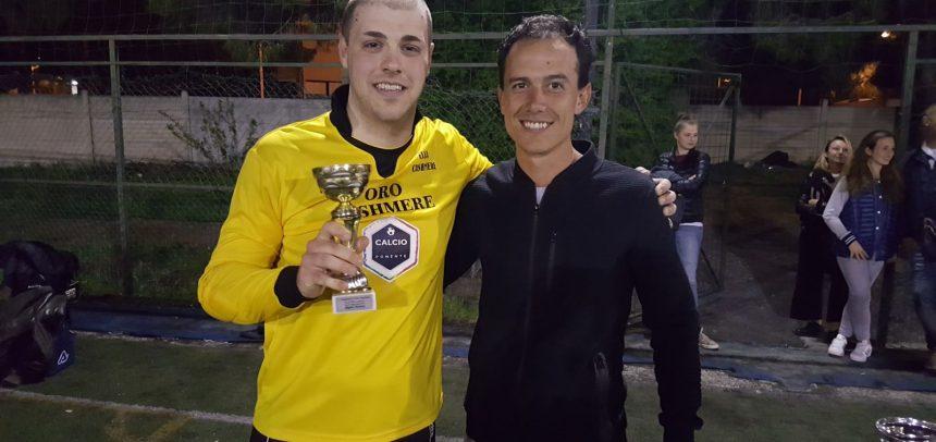 """Campionato a 7 """"Ezio Sclavi"""", il miglior portiere è Christian Moraglia della formazione Oro Cashmere"""