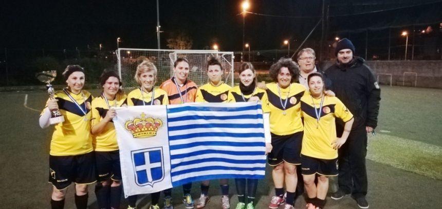 Il Taggia conquista lo 'scudetto' di calcio a 5 femminile di Seborga