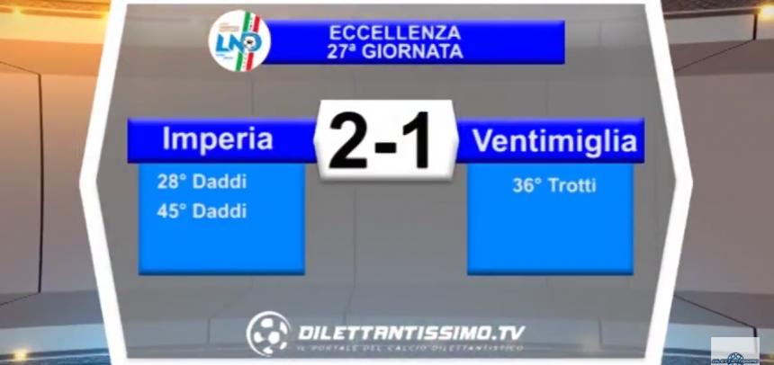 Eccellenza, gli Highlights di Imperia-Ventimiglia 2-1 by Dilettantissimo
