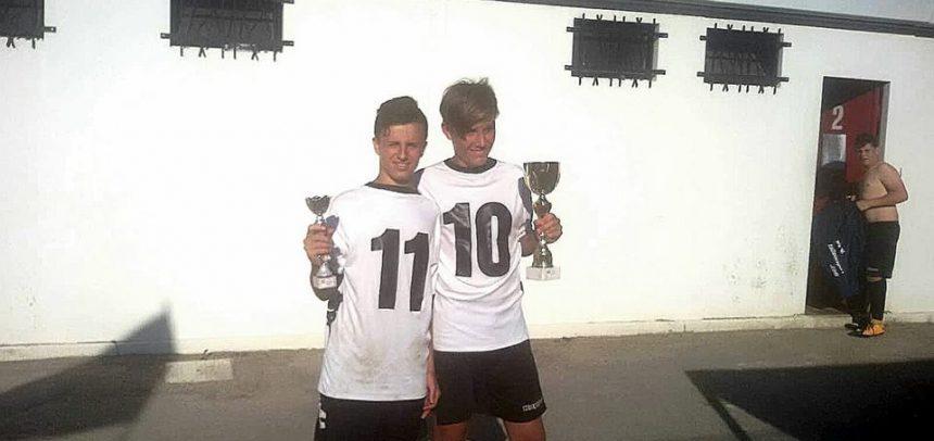 Sanremese Calcio – Riccardo Coccoluto e Matteo Bastita premiati come capocannoniere e miglior giocatore al Torneo di Vallecrosia