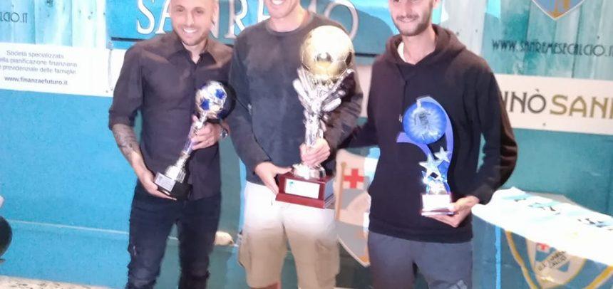 Sanremese Calcio – Gli Irriducibili premiano Taddei, Scalzi e Lauria