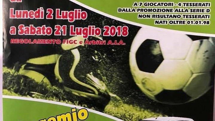 Taggia, a luglio parte il Torneo Notturno di calcio a 7: 1° premio un'automobile!