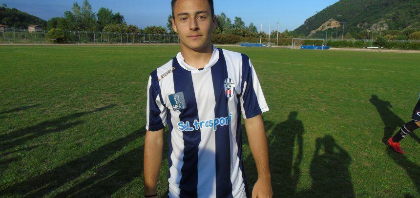 Savona, Alessandro Russello è il Man of the Match della Finale Regionale vinta 5-0 con la Sanremese: per il bomber una fantastica tripletta