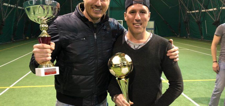 I fratelli Montepietra protagonisti al 2° Torneo di Calcio a 5 di Sanremo: Mattia capocannoniere e Nicola miglior giocatore