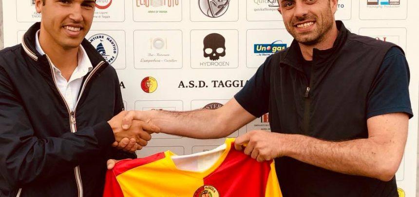 Taggia, Matteo Minghinelli primo colpo del direttore sportivo Baracco
