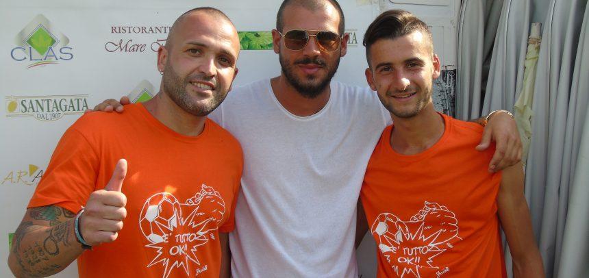 """Anche Stefano Sturaro presente al """"Comunale"""" per il 2° Torneo benefico in favore del Gruppo Famiglie Dravet Onlus"""