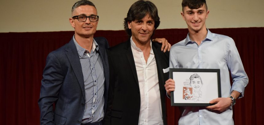 Alessio Salzone vince il premio rivelazione 2017-18